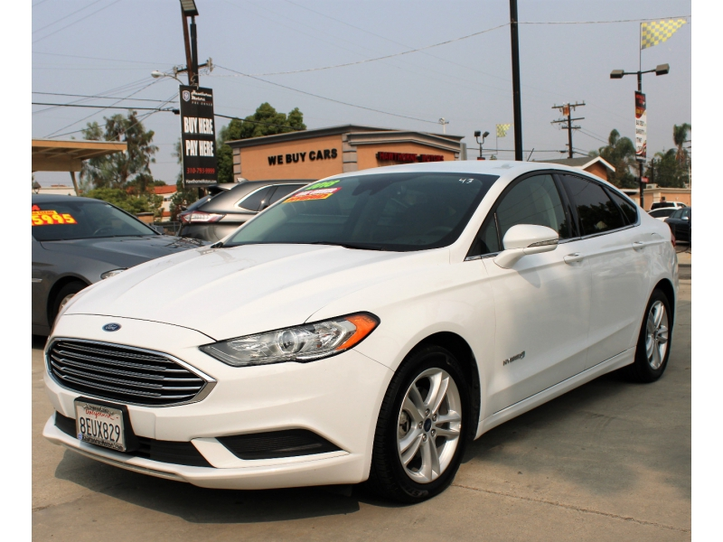 Ford Fusion Hybrid 2018 price $14,995