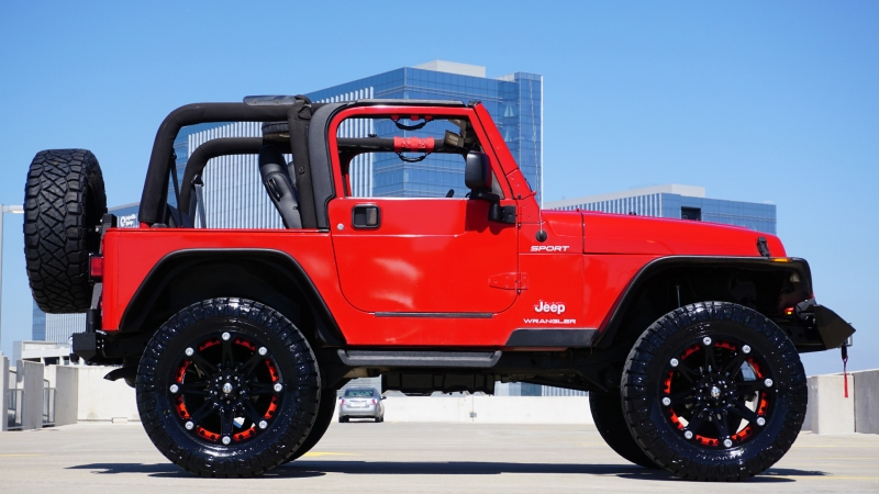 Jeep Wrangler 4.0L TJ 2003 price $19,720