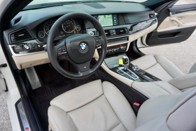 BMW 5 Series 535i M Sport 2012 price $18,411