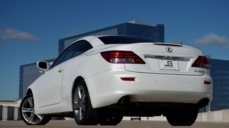 Lexus IS 350C 2012 price $21,998