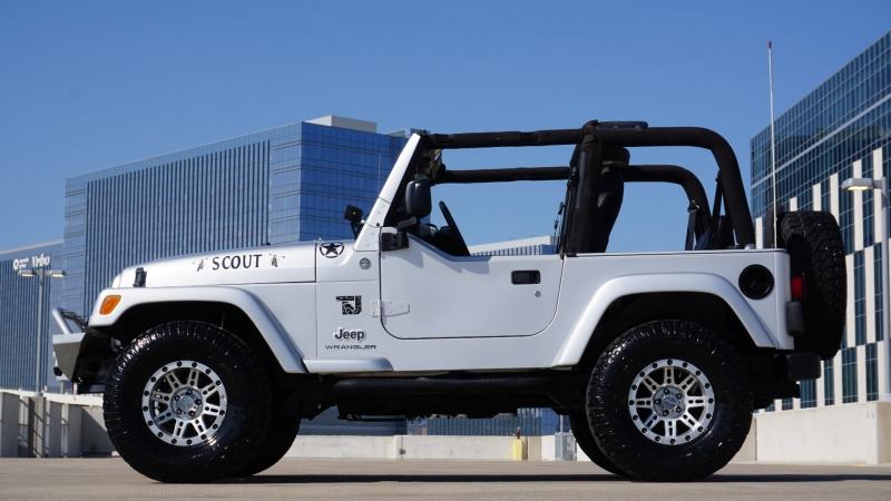 Jeep Wrangler 2005 price $19,650