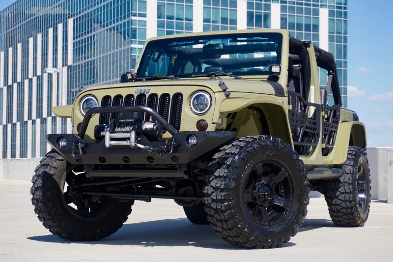 Jeep Wrangler Unlimited 2013 price $36,470