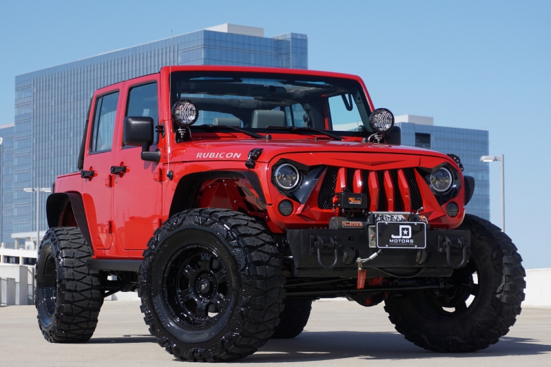 Jeep Wrangler Unlimited 2008 price $24,998