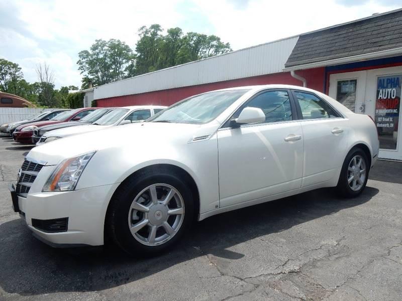 Cadillac CTS 2008 price $10,500
