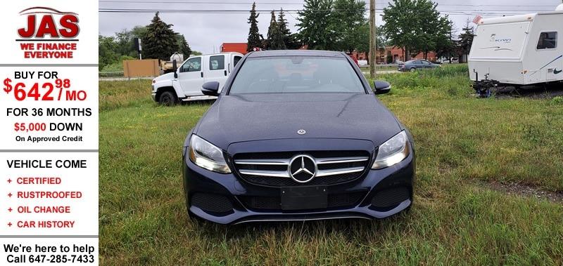 Mercedes-Benz C-Class 2017 price $27,999