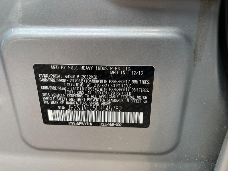 Subaru Forester 2014 price $11,999
