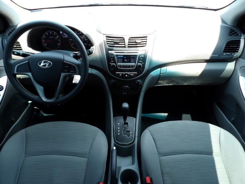 Hyundai Accent 2017 price $9,992