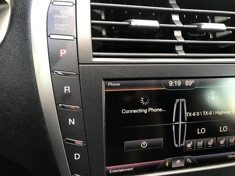 Lincoln MKZ 2015 price $9,900