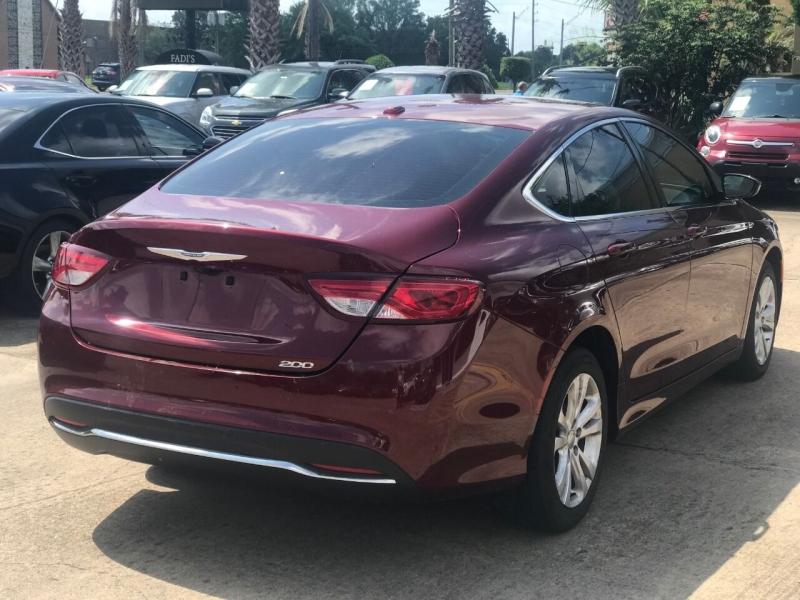 Chrysler 200 2015 price $20,000