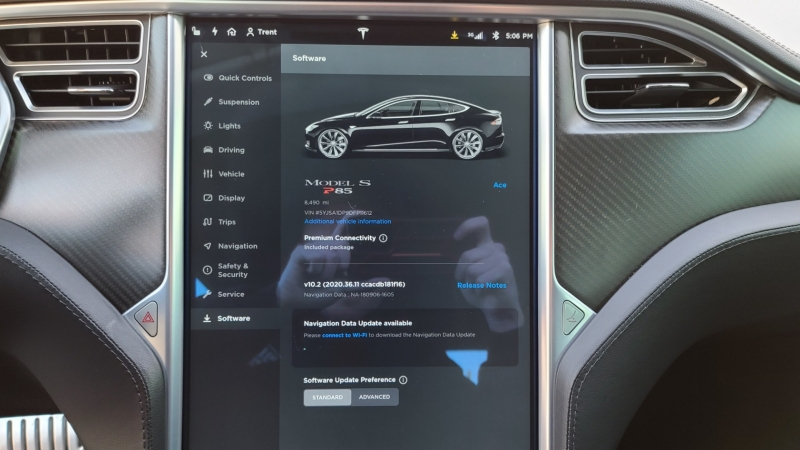 Tesla Model S 2013 price $42,990