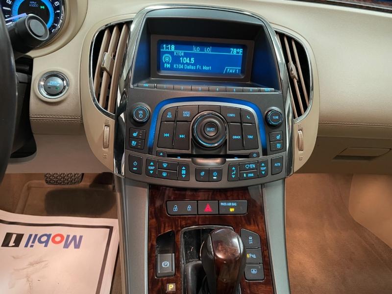 Buick LaCrosse 2012 price $15,990