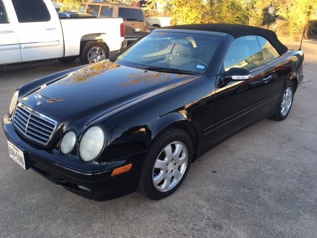 Mercedes-Benz CLK-Class 2000 price $4,996