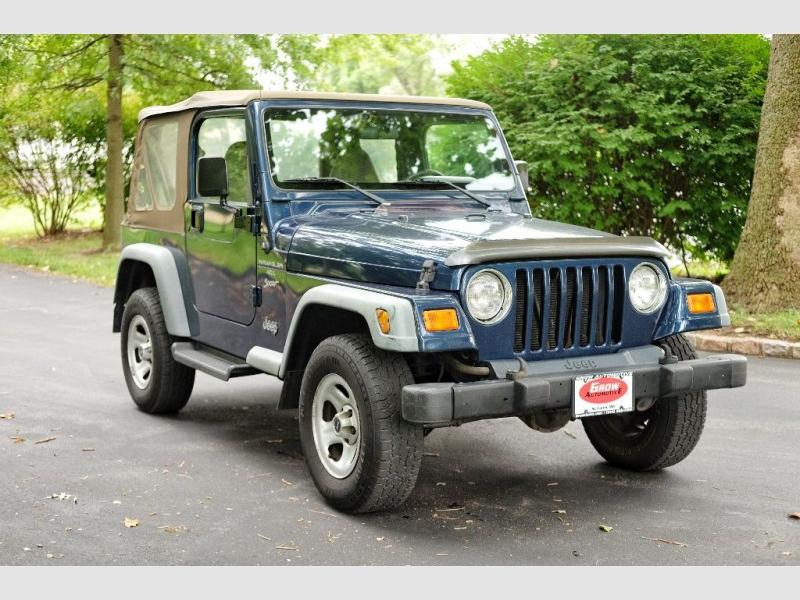JEEP WRANGLER / TJ 2000 price $7,997