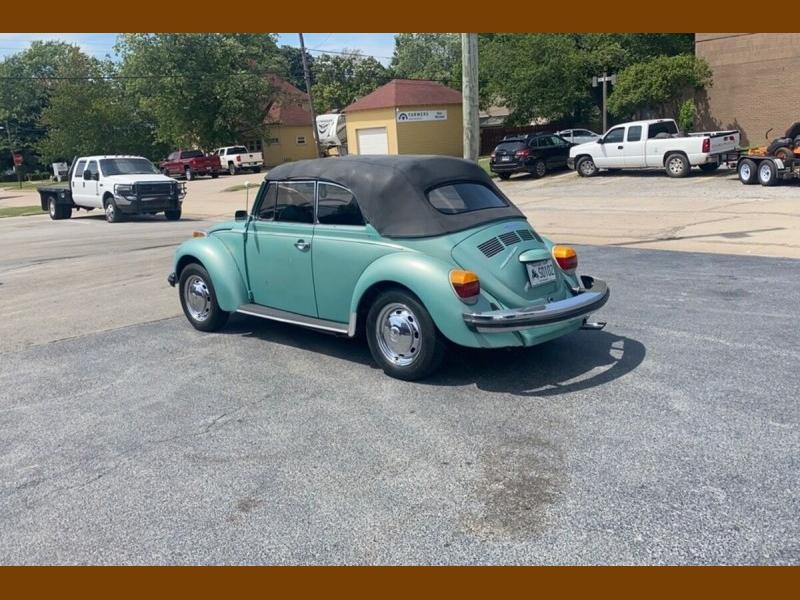 Volkswagen Beetle Convertible 1979 price $9,995