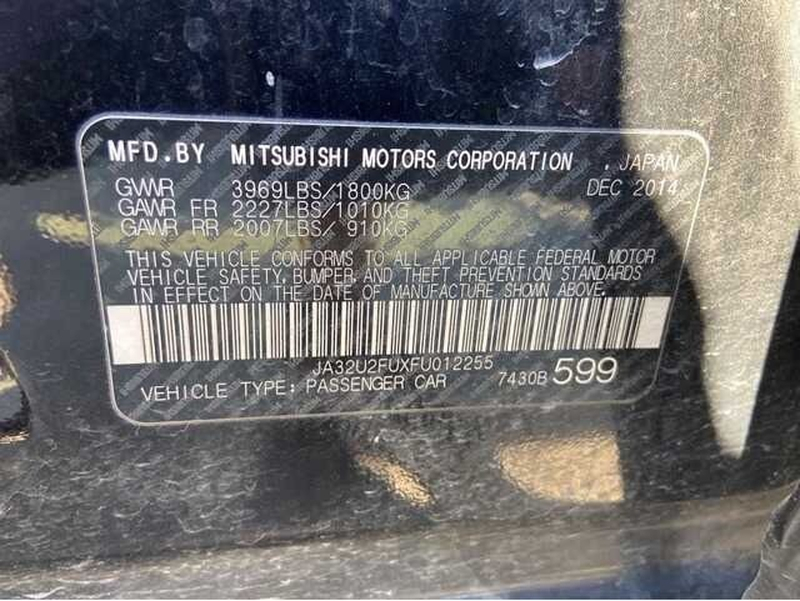 Mitsubishi Lancer 2015 price $9,900