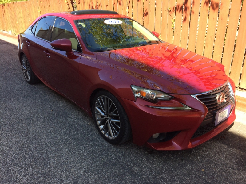 Lexus IS 250 2014 price $18,695