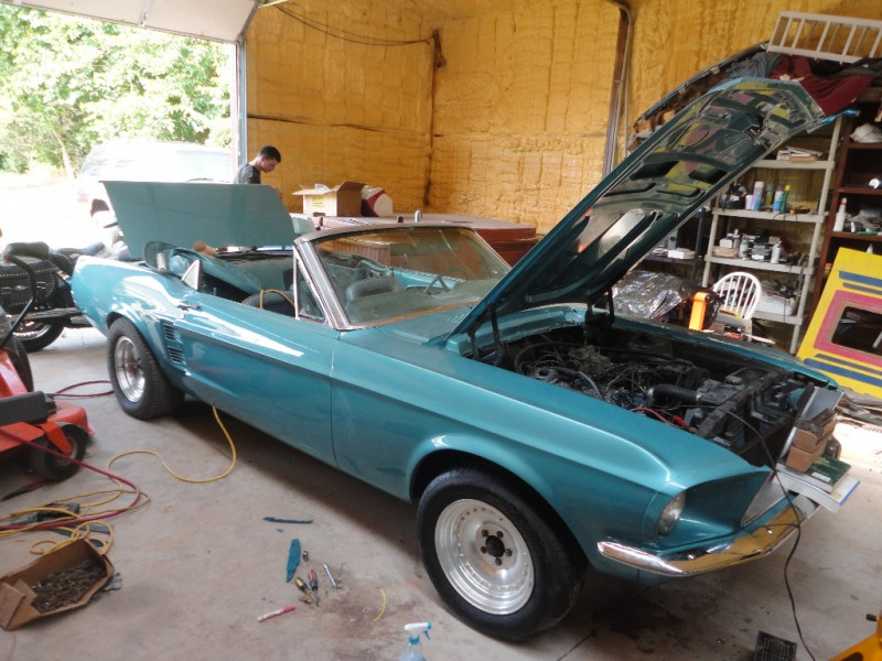 Ford Mustang 1967 price $17,940