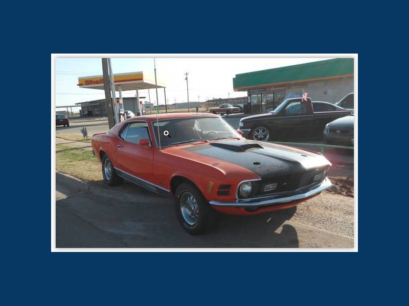 Ford Mustang 1970 price $37,830 Cash