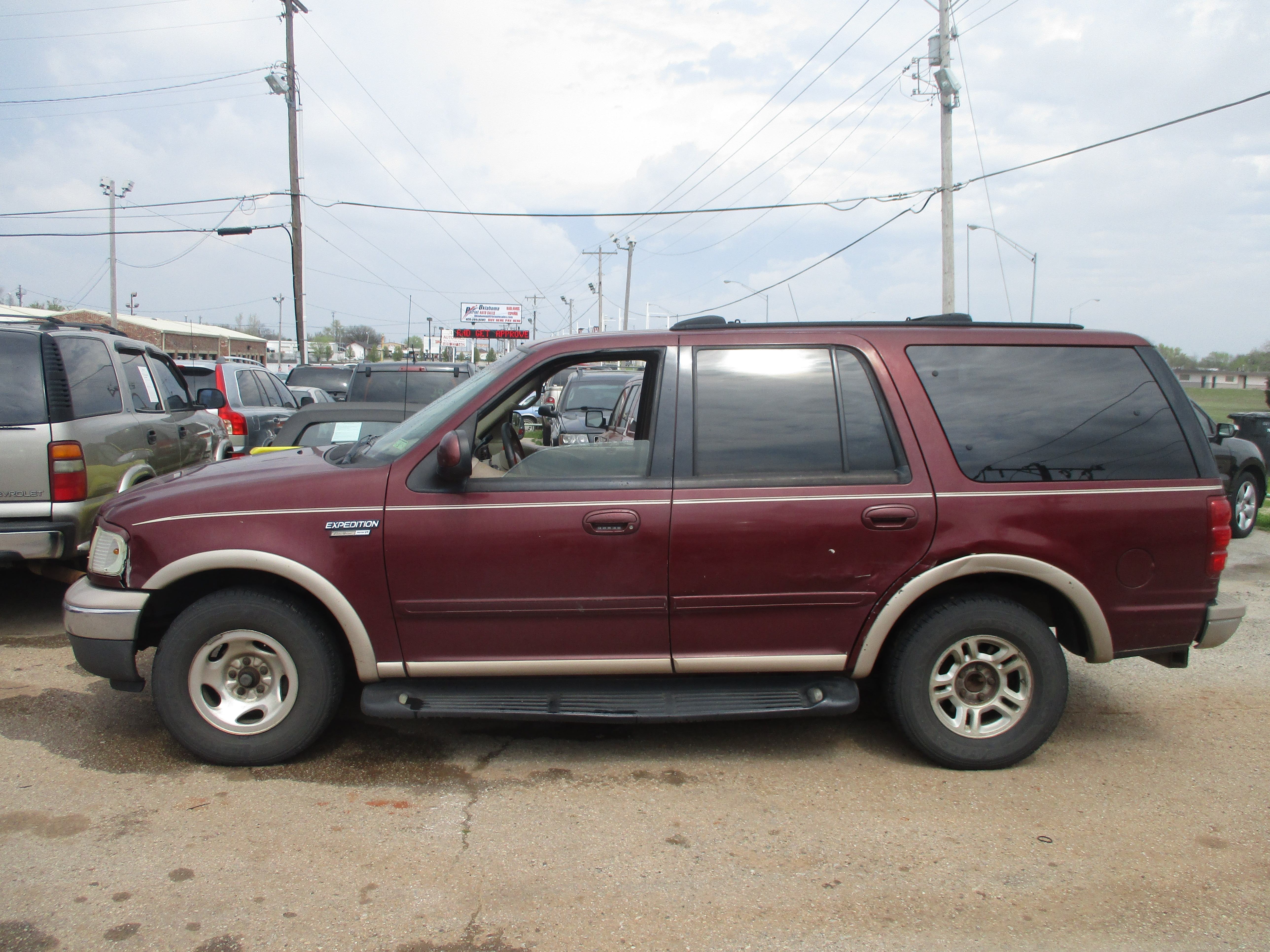 1999 ford expedition eddie bauer buzzzmotors dealership in moore buzzzmotors