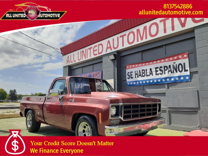 GMC Sierra 1978 price $15,000