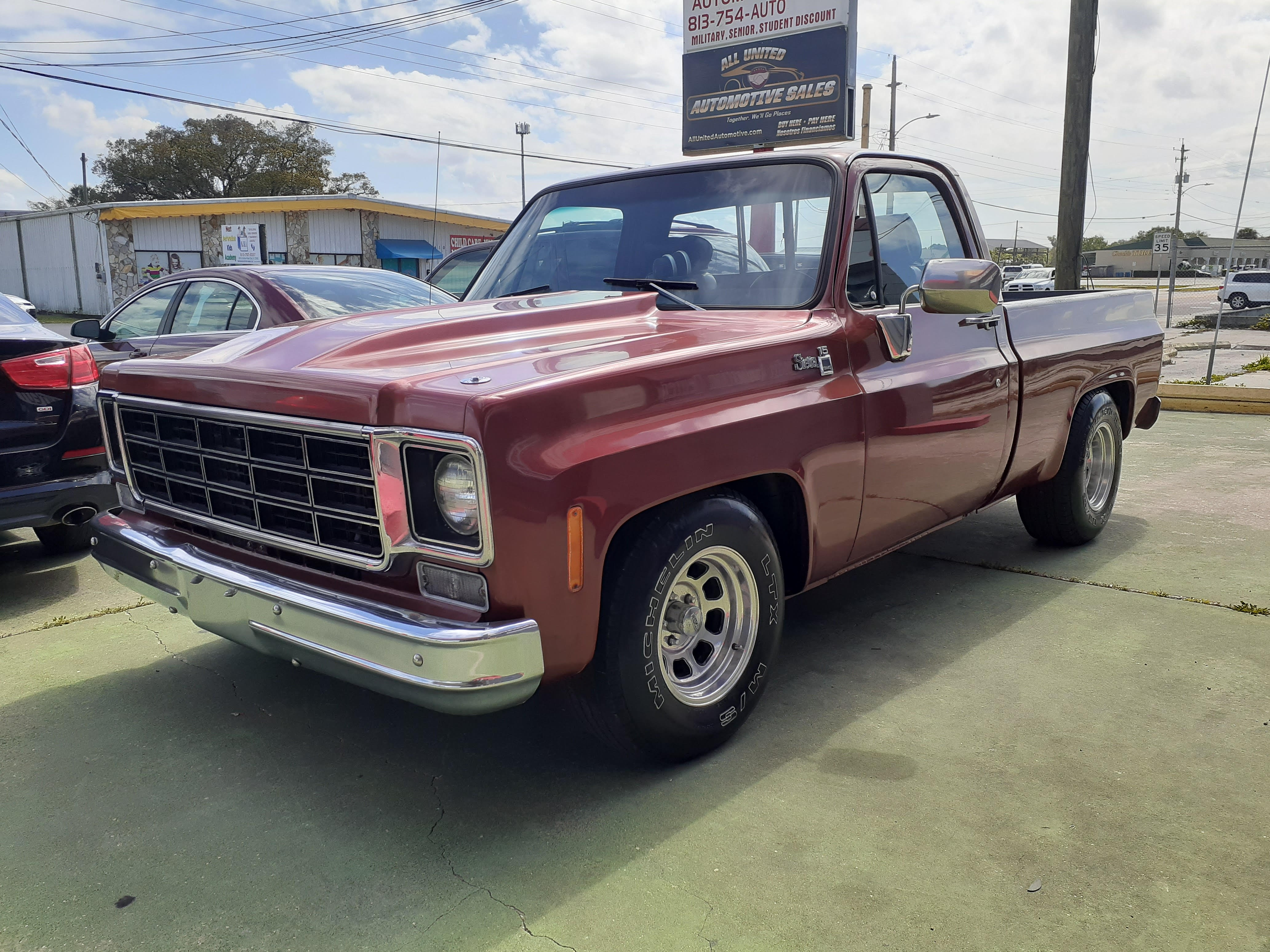 1978 Gmc Sierra All United Automotive Sales Dealership In Plant City