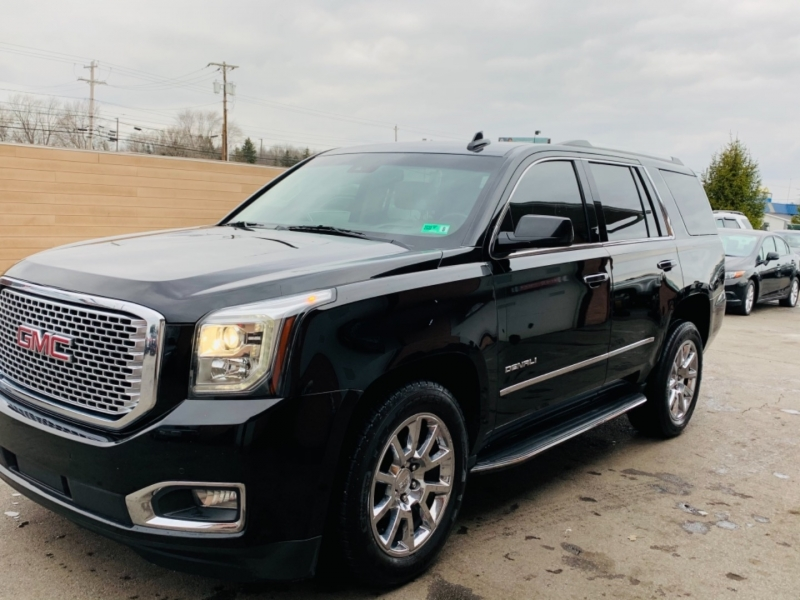 GMC Yukon 2016 price $34,500