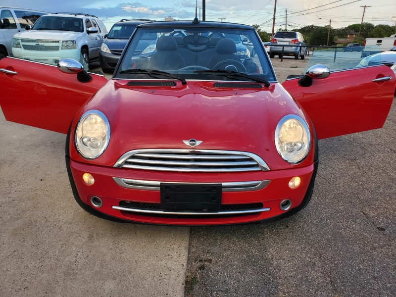 Mini Cooper Convertible 2007 price $6,500