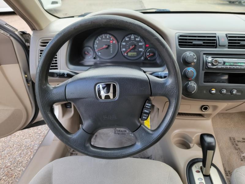 Honda Civic 2001 price $4,100
