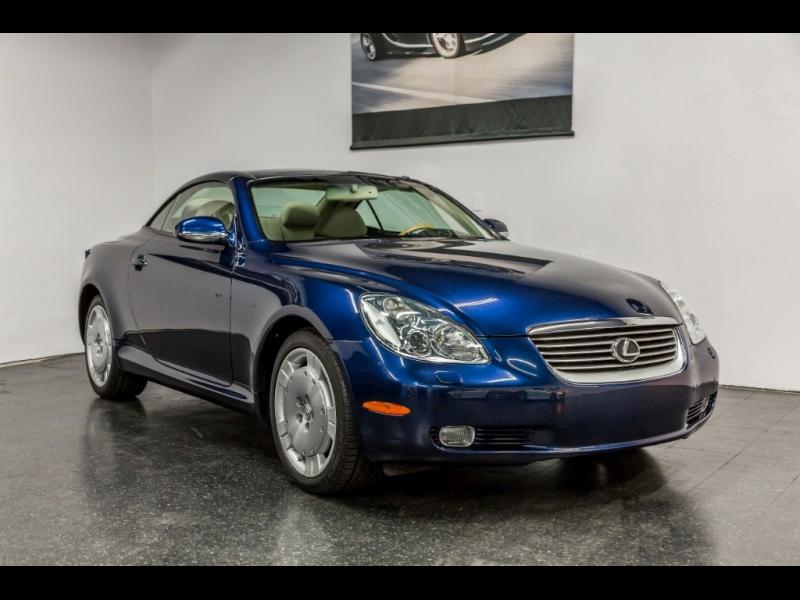 Lexus SC 430 2002 price $22,888