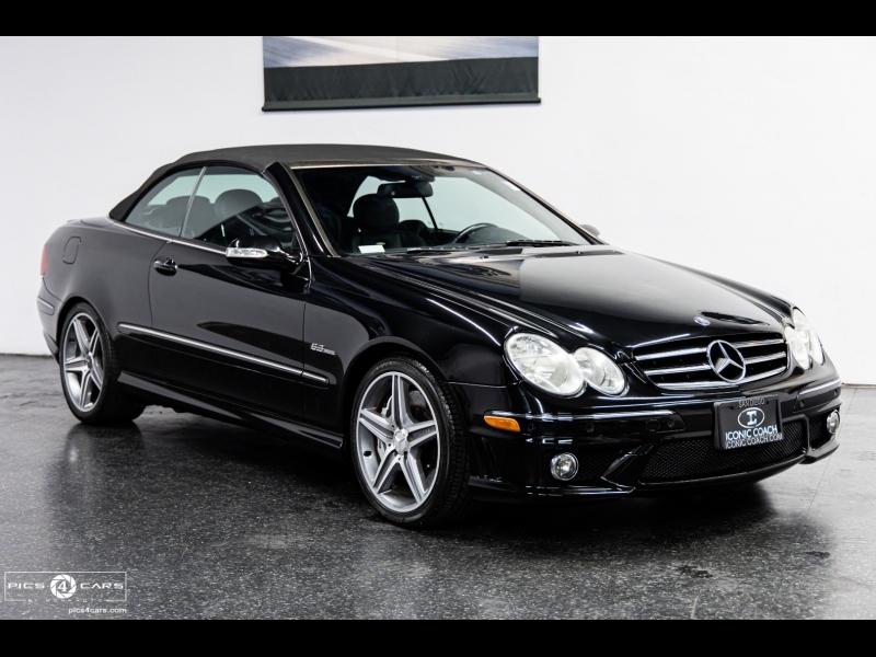 Mercedes-Benz CLK63 AMG 1-OWNER 2007 price $29,888