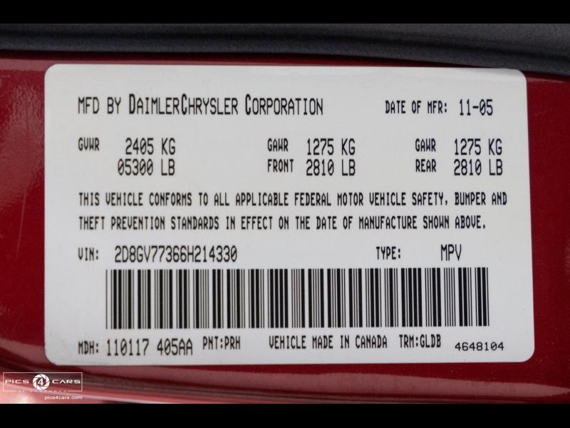 Dodge Magnum 6.1L *SRT8 * *Ltd Avail* 2006 price $17,888