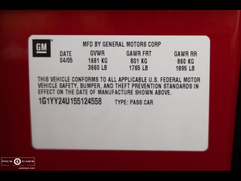 Chevrolet Corvette 2005 price $26,488