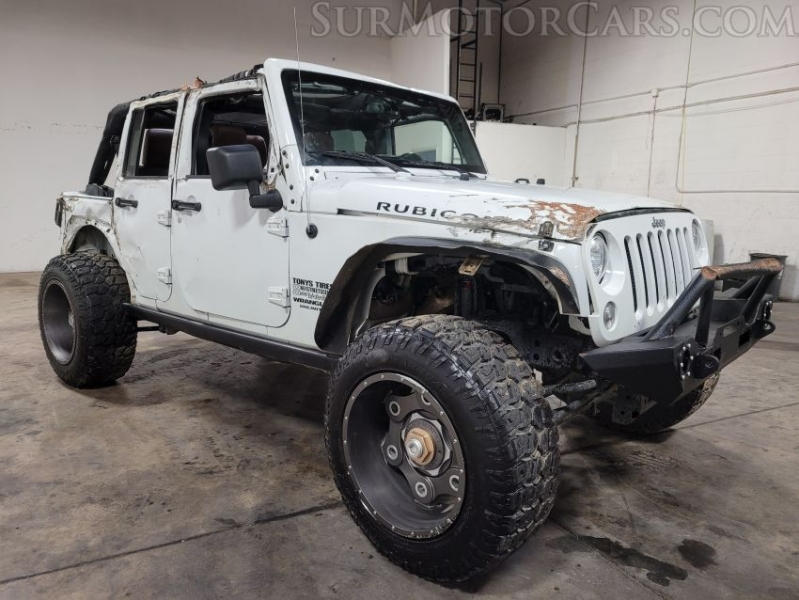 Jeep Wrangler Unlimited 2017 price $14,950