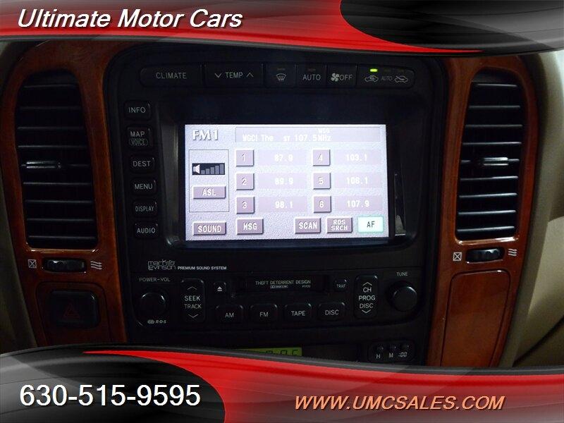 Lexus LX 2002 price $9,000