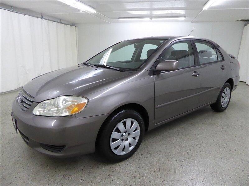Toyota Corolla 2003 price $3,700