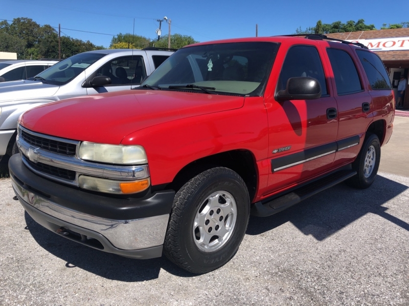 CHEVROLET TAHOE 2002 price Call for Pricing.