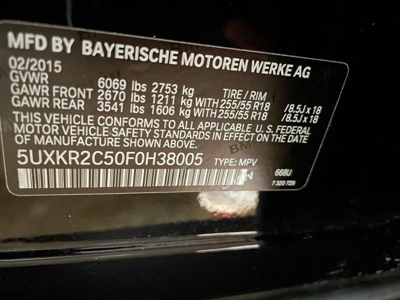 BMW X5 2015 price $18,988