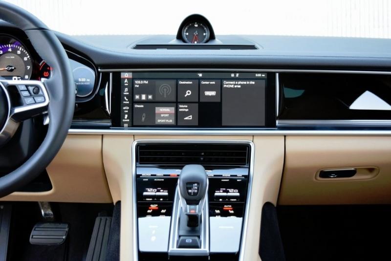 Porsche Panamera 2018 price $76,900