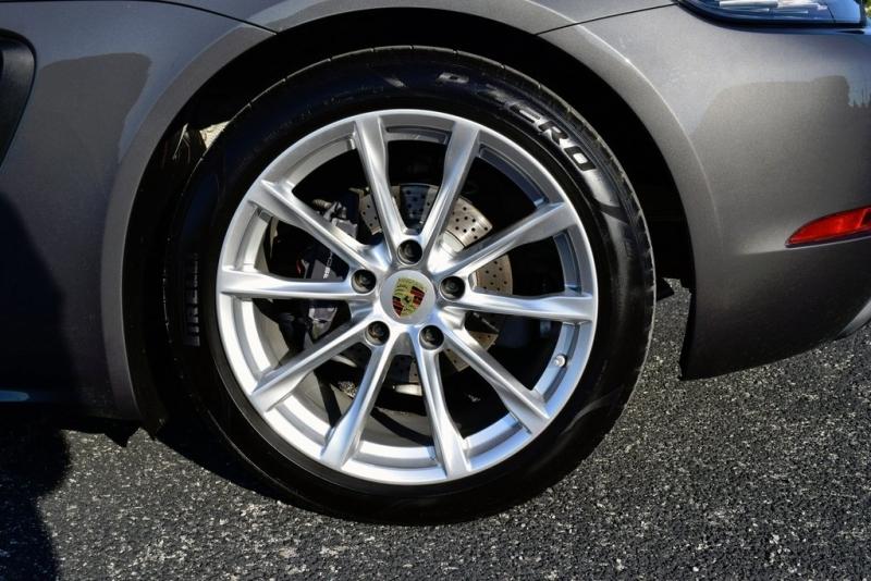 Porsche 718 Boxster 2017 price $49,400