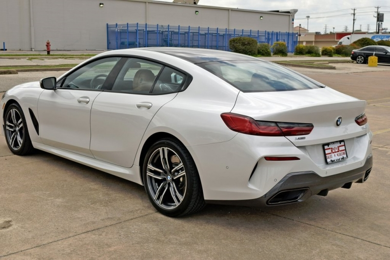 BMW 8 Series 2021 price $85,900