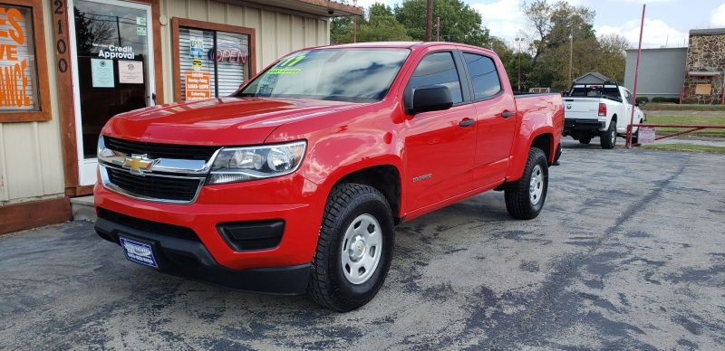 Chevrolet Colorado 2017 price $17,990