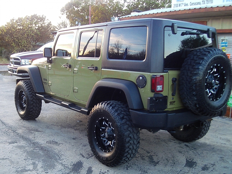 Jeep Wrangler Unlimited 2013 price SOLD