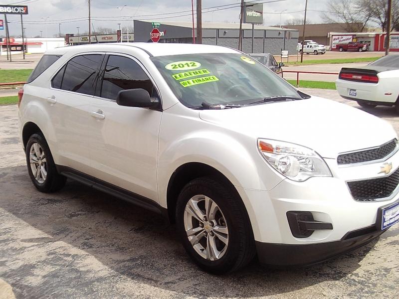 Chevrolet Equinox 2012 price SOLD