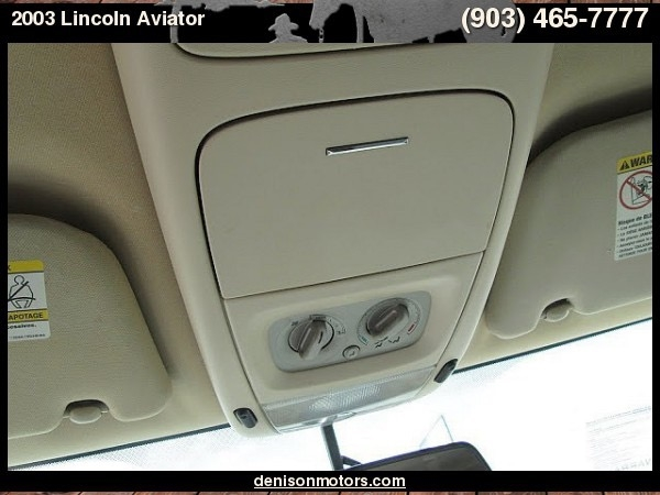 Lincoln Aviator SUV 2003 price $4,995