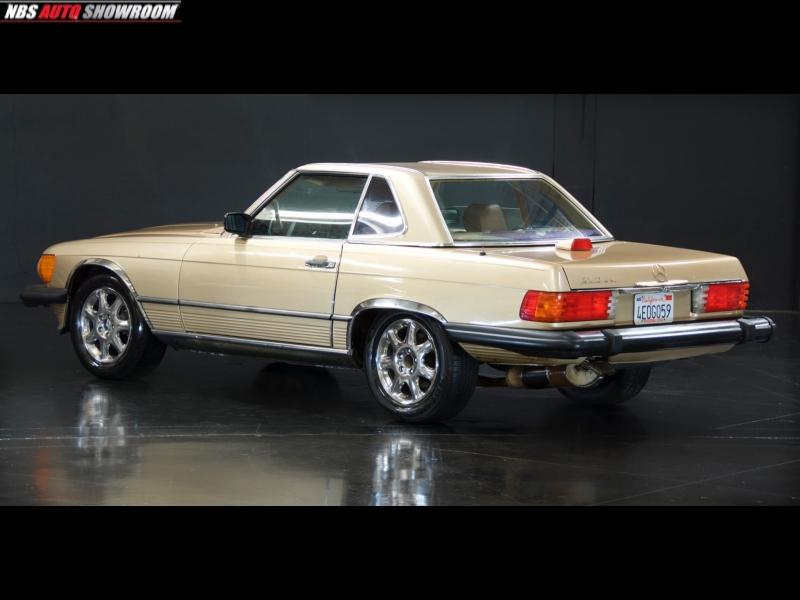 Mercedes-Benz 560 SL 1987 price $11,300
