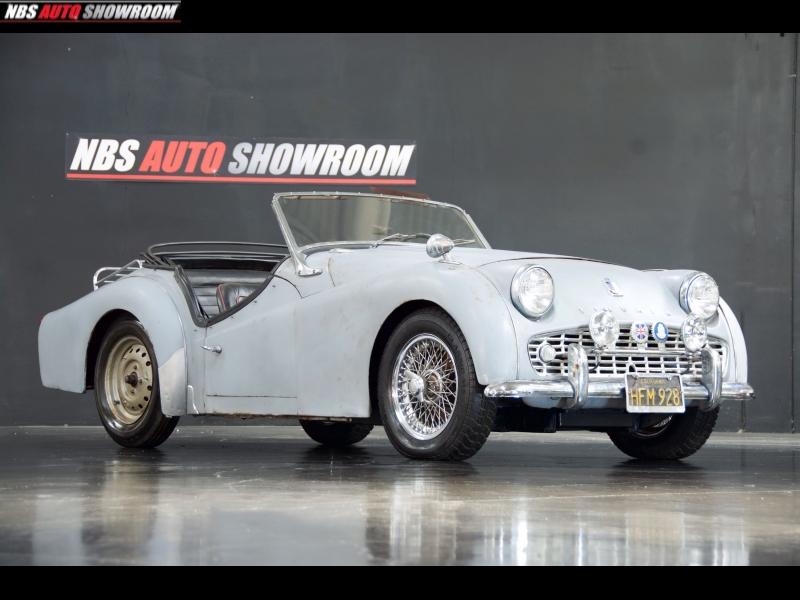 Triumph TR3A 1959 price $6,100