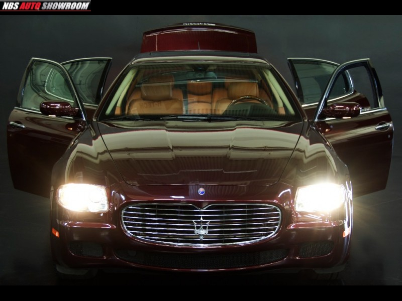 Maserati Quattroporte 2005 price $18,500