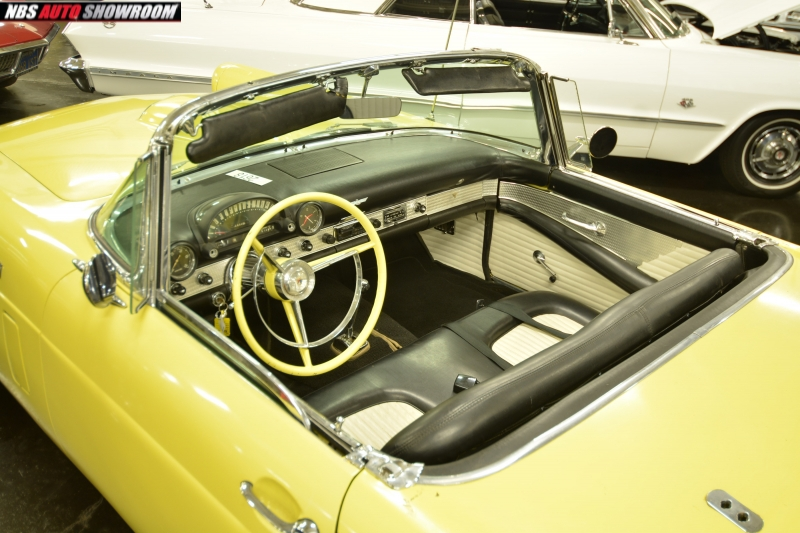 Ford Thunderbird 1956 price $23,400