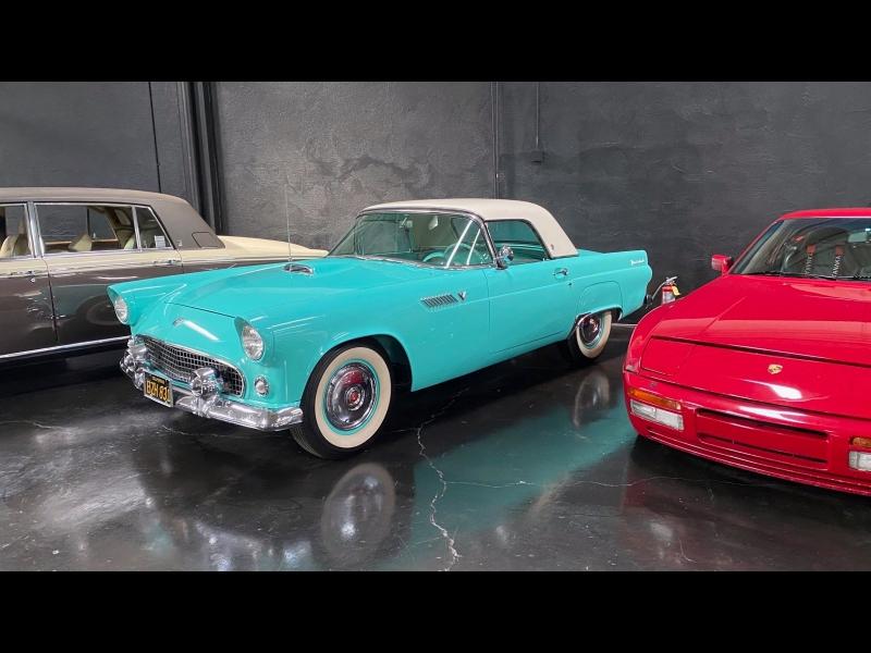 Ford Thunderbird 1955 price $33,300