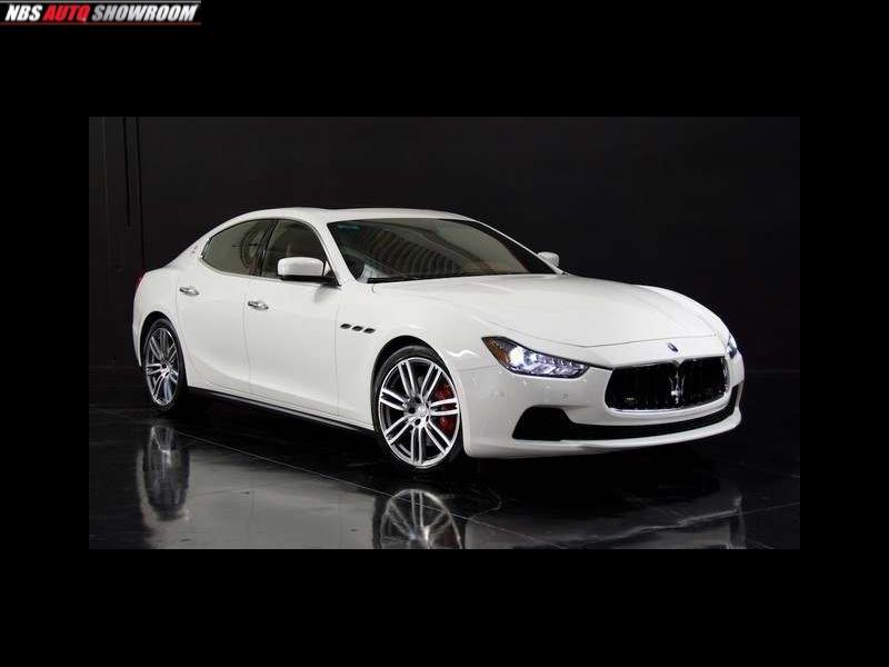 Maserati Ghibli 2014 price $53,535